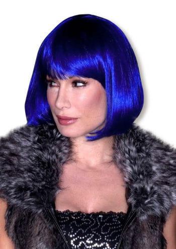 Echthaar Perücke Blue