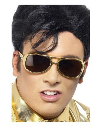 Elvis sunglasses gold