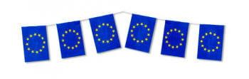 EU Fahnen Kette