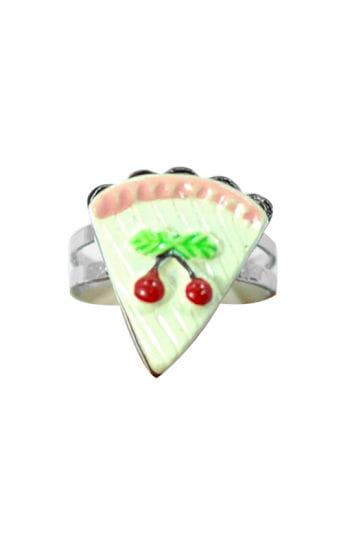 Children`s Jewelry Ring Cherry