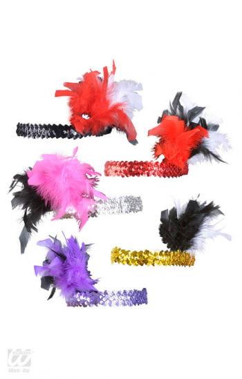 Flapper Feather Headdress