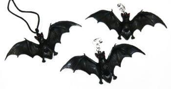 Bat Jewellery Set