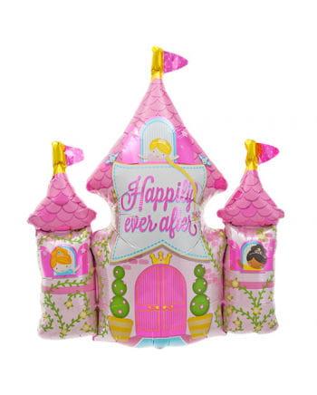 Foil balloon Princess Castle