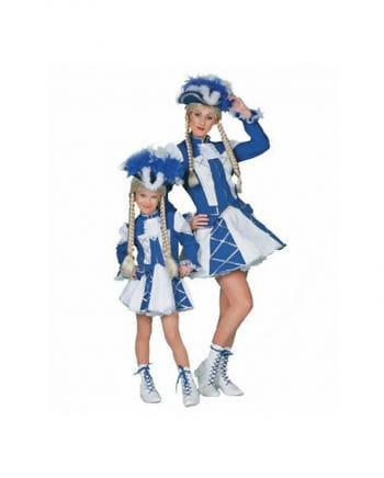 Tanzmariechen Women`s costume Blue / White Plus Size