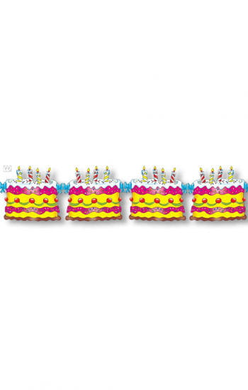 Birthday Cake Garland