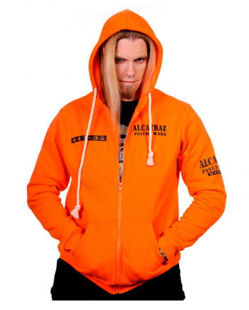 Alcatraz Kapuzenpullover orange