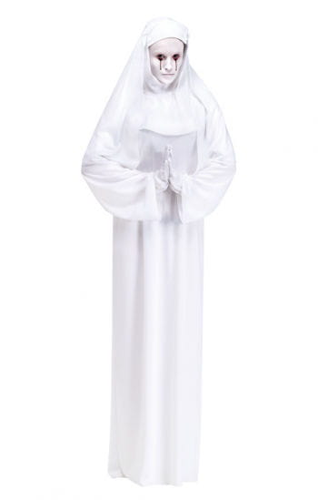 Ghost nun costume