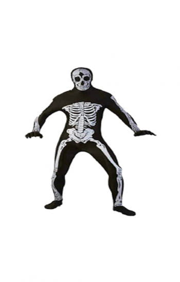 Skeleton Full Body Suit Plus Size