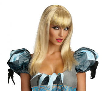 Glitter Vampir Perücke blond