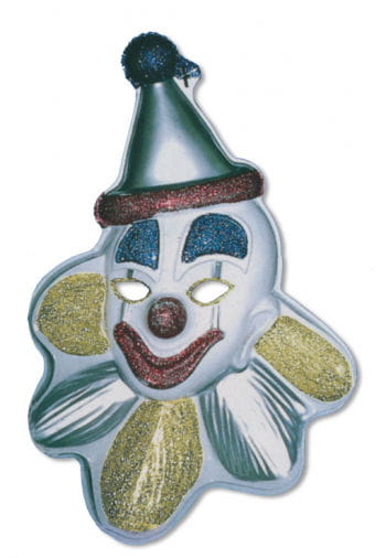 Glitter Clown Wall Decor