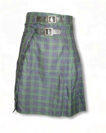 Grün-blau karierter Kilt