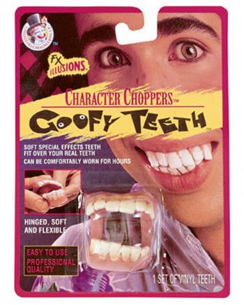 Goofy teeth