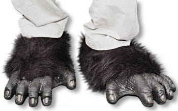 Gorilla feet black