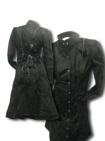 Gothic Faux Fur Coat Medium