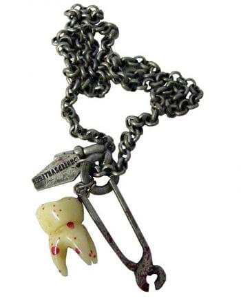 Gothic Halskette Breaking Teeth