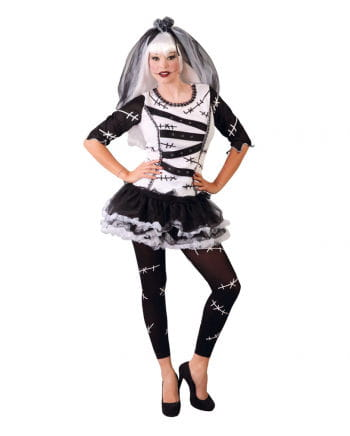Gothic Monster Bride Ladies Costume