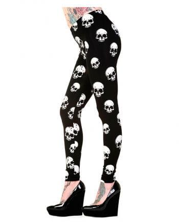 Leggings with skulls