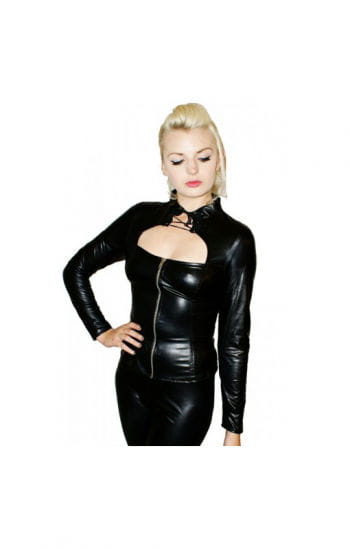 Gothic Top with zipper