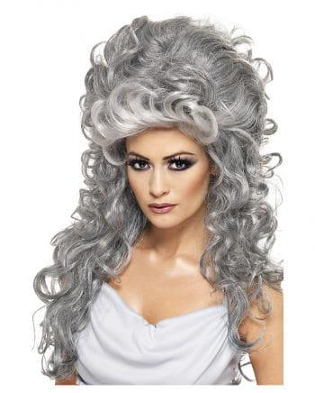 Greek Witch Wig Gray