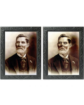 Great - grandfather - hologram image