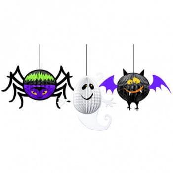 Halloween Gruseldeko 3-teilig