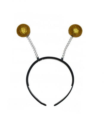 Headband with golden sensors