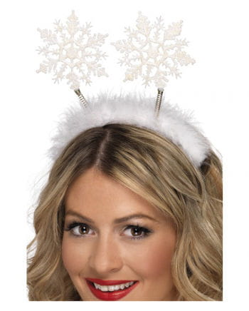 Headband with snowflakes