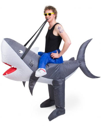 Shark Carry Me Costume Inflatable