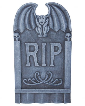 Halloween Grabstone RIP & Gargoyle