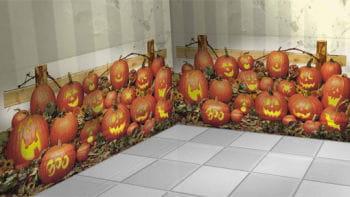 Halloween Pumpkin Scene Setters