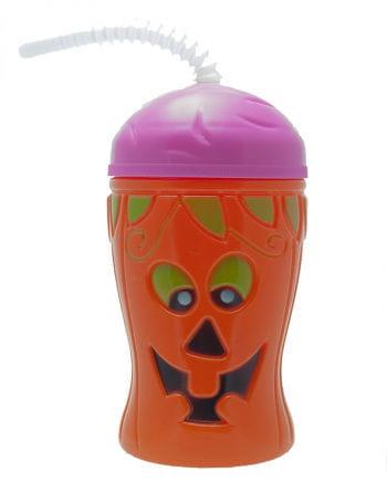Halloween Becher Kürbis