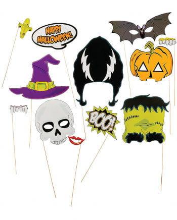 Halloween Photobox Accessoires