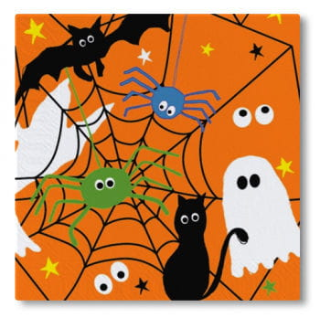 Halloween Napkins pack of 20
