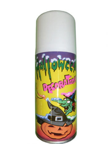 Halloween Spray Can with Templates