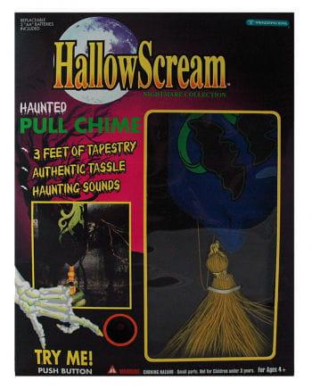 Halloween doorbell with banner