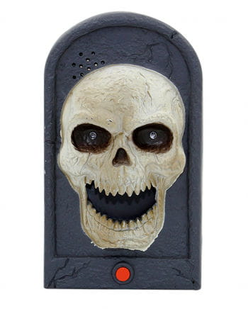 Halloween doorbell Skull Light & Sound