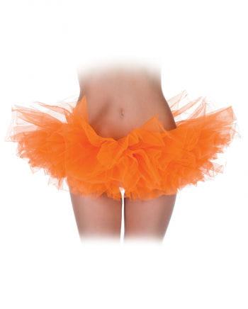 Neon Orange Ballet Tutu