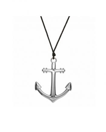 Necklace with anchor pendant