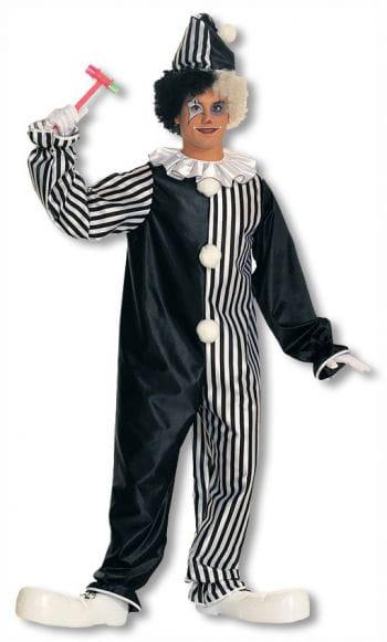 Harlekin Clownkostüm mit Kragen