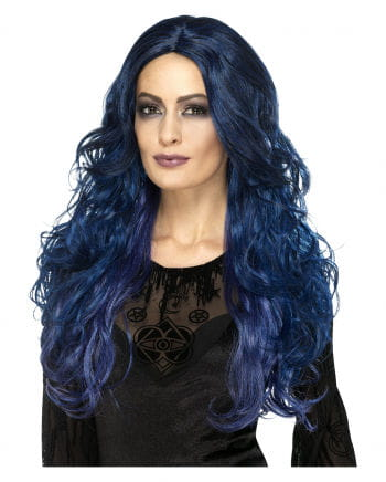 Witches Siren Wig Blue-black