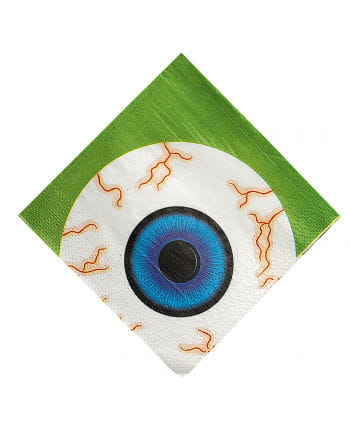 Witches Eyeball Napkins 16 pc