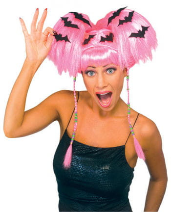 Witch Wig Neon Pink