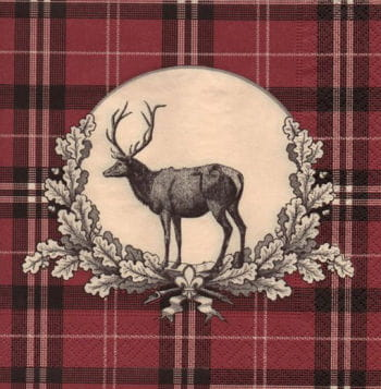 Deer Napkins 33 x 33 cm