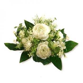 Hochzeitsblumen weiß