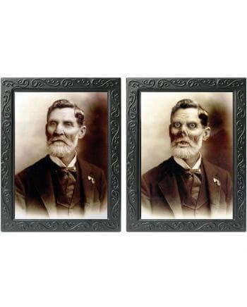 "Hologram Portrait ""grandfather"""