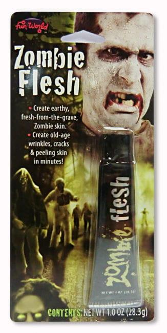 Horror Flesh Make Up Grau