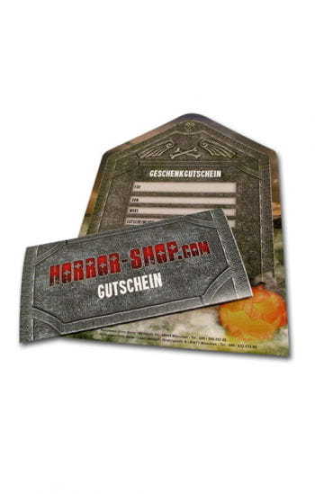 Horror-Shop.com Gift Voucher 20€