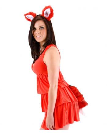 Fuchs Set as costume accessories