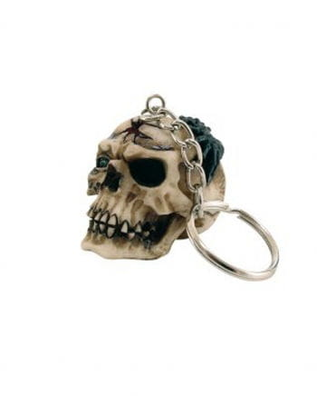 Skull & Crossbones Key Ring