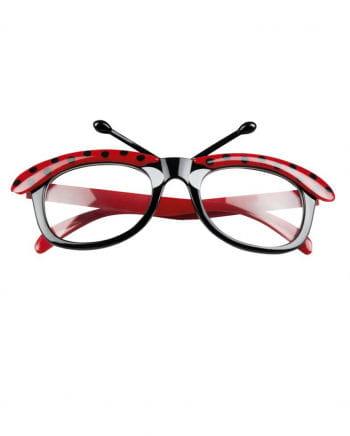 Marienkäfer Brille